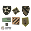 Insignia: Soldier Story US Army Divisions + Flag