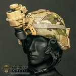 Helmet: Soldier Story MICH w/PSQ-20 NVG + Battery Case - Multicam
