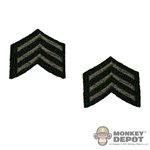 Insignia: Soldier Story US WWII Sergeant Stripes