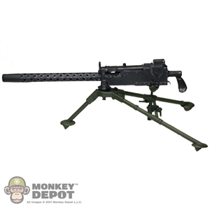 Rifle: Soldier Story US WWII M1919 .30 Cal Machine Gun  (Real Metal)
