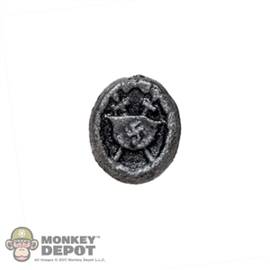 Medal: Soldier Story German WWII Wound Badge In Silver