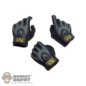Hands: Soldier Story Mechanix Weapon Gripping Black/Grey