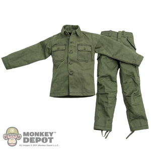 Fatigues: Soldier Story US WWII HBT