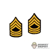 Insignia: Soldier Story US Master Sergeant