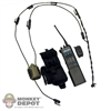 Radio: Soldier Story Saber Radio w/ Quietops Tactical Communication Headset & Pouch