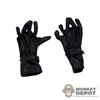 Gloves: Soldier Story Black Leatherlike Gloves