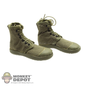 Boots: Soldier Story PLA Vietnam Canvas Combat Shoes