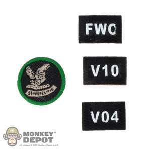 Insignia: Soldier Story FBI HRT Patches