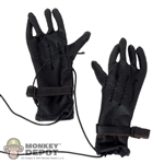 "Gloves: Soldier Story Black ""M"" Gloves Leatherlike"