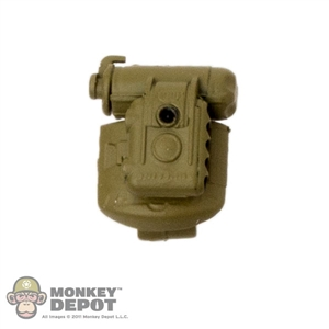 Flashlight: Soldier Story Helmet Light w/Clip