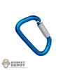 Tool: Soldier Story Carabiner Locking Blue