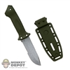 Knife: Soldier Story Prodigy Knife w/Sheath