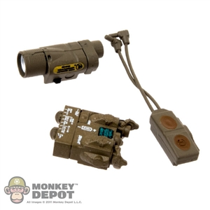 Sight: Soldier Story AN/PEQ15A w/Light & Dual Button Remote
