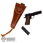 Pistol: Soldier Story US WWII M1911 .45 w/Holster