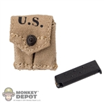 Pouch: Soldier Story US WWII .45 w/Mag