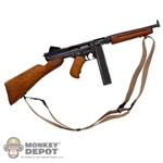 Rifle: Soldier Story US WWII M1A1 Thompson (Metal + Wood)