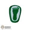 Insignia: Soldier Story PJ Big Green Footprint Patch