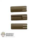 Grip: Soldier Story Tan Rail Panel Set