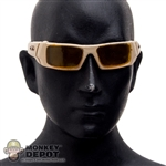 Glasses: Soldier Story Tan Gascan Sunglasses