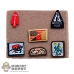 Insignia: Soldier Story Seal Gunner Patch Set w/Board