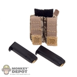 Ammo: Soldier Story AOR1 Double Mag Pouch w/Ammo