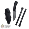 Knife: Soldier Story Fixed Blade w/Sheath