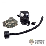 Gas Mask: Soldier Story M45 Gas Mask w/Pouch