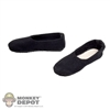 Shoes: Soldier Storry Black Cloth Shoes