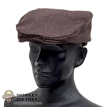 Hat: Soldier Story Brown Flat Cap