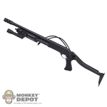 Rifle: Soldier Story M870 Folding Stock w/Light & Breacher Muzzle