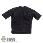 Shirt: Soldier Story Black T-Shirt w/Padding