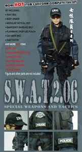 Uniform Set Playhouse SWAT Gear Female