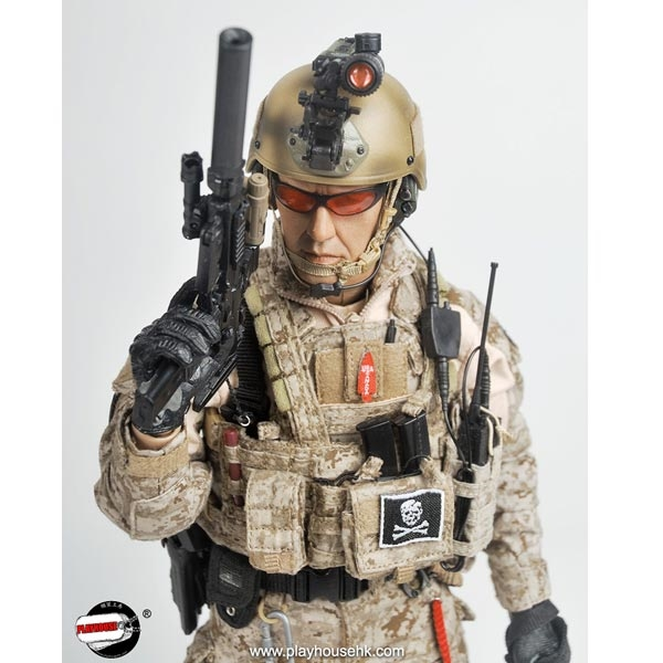 Souvent Monkey Depot - Boxed Figure: Playhouse US Navy Seal Team Six (PH005) QX04