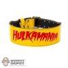Belt: Storm Collectibles Yellow Hulkamania Belt
