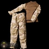 Uniform: Playhouse US 3 Color Desert Combat Shirt + Trousers