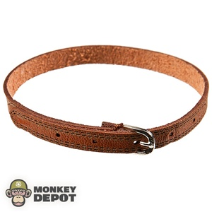 Belt: Playhouse Brown Leather