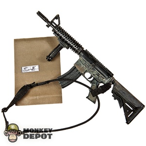 Rifle: Playhouse Mk18 w/CQD Grip, 100 MPH Tape, Label, Sling