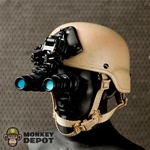 Helmet: Playhouse MICH w/AN/PVS-15 Night Vision