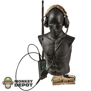 Radio: Playhouse MBITR w/Sordin Headset, Pouch