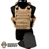 Vest: Playhouse Vel-Tye Hugger w/Side Plate Pockets