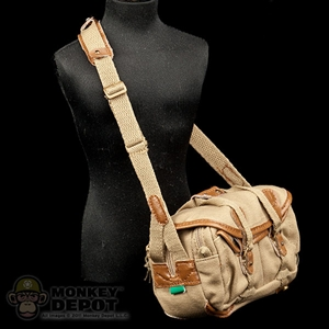 Bag: Playhouse Duffel Bag (Tan) W/ Strap