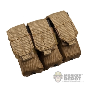 Pouch: Playhouse MLCS Triple M4 Rifle Magazine - Coyote