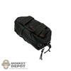 Pouch: Playhouse 0250F Med Kit Pouch Black
