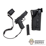 Pistol: Playhouse P229 w/Tactical Lanyard & Holster