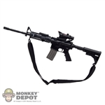 Rifle: Subway M4 Carbine w/ACOG, Sling & Tactical Light