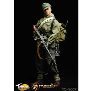 Toys City German Mountain Troop MG34 Gunner TCT-9007