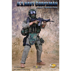 Boxed Figure: Toys City US Navy Corpsman (TCT-9018)