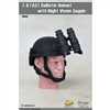 Helmet: Toys City FAST Ballistic Helmet w/ Night Vision - Black