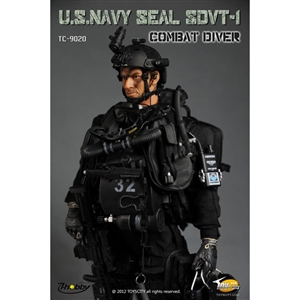 Boxed Figure: Toys City US Navy SEAL SDVT-1 (TCT-9020)