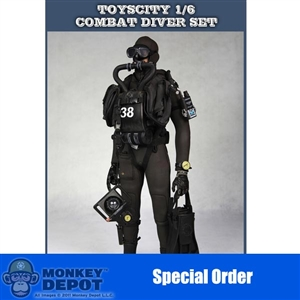 Uniform Set: Toys City Combat Diver Suit (TCT-62017)